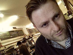 Kresten Bjerg - forfatter til Den digitale læsers hjerne
