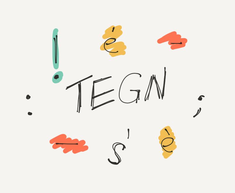 Tegn og tegnsætning